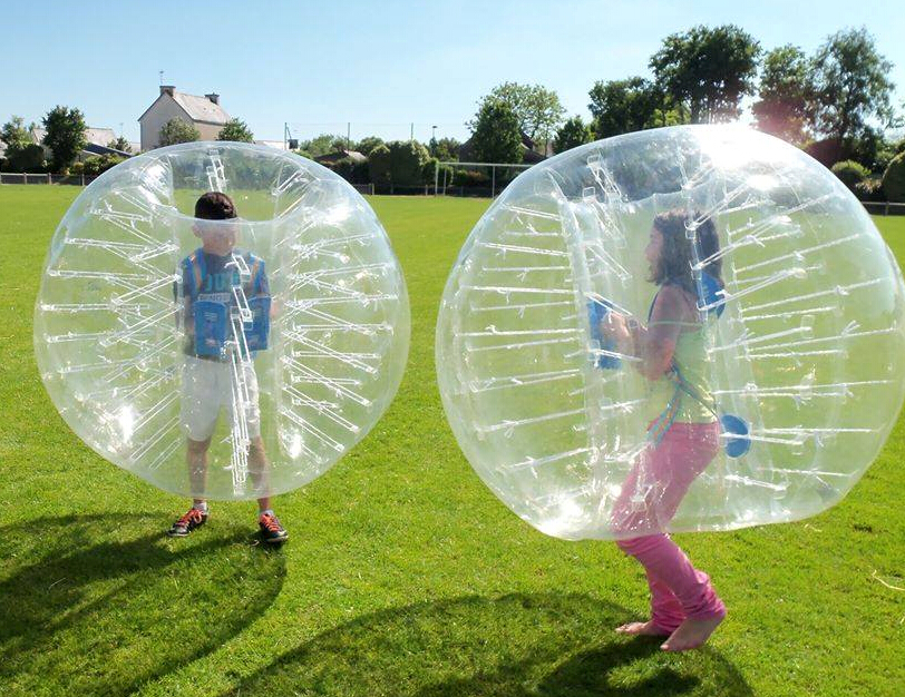 Clear bubble football