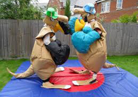 Kangroo inflatable sumo wrestling costume
