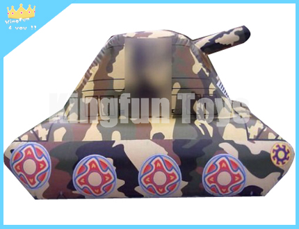 Inflatable tank bunkers