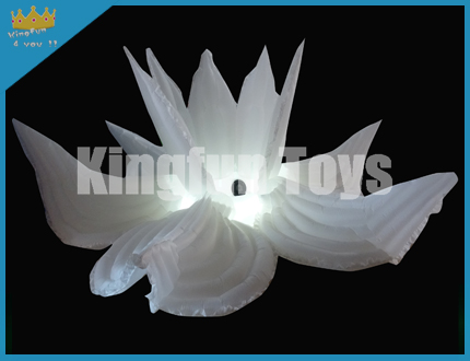 LED inflatable lotus flower decoration