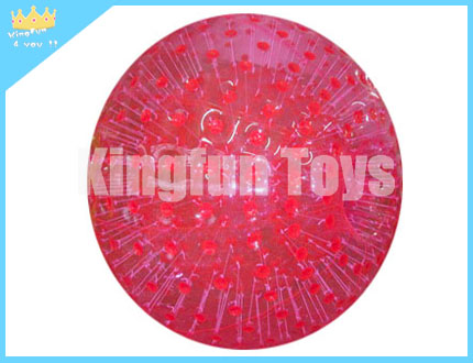 RED zorbing ball for entertainment
