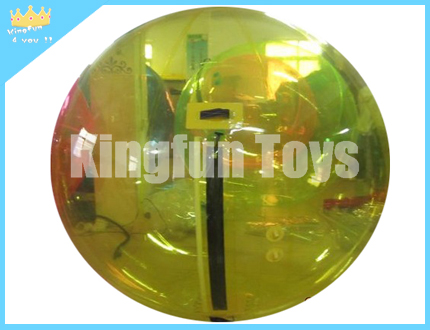 Yellow water sphere/aqua ball