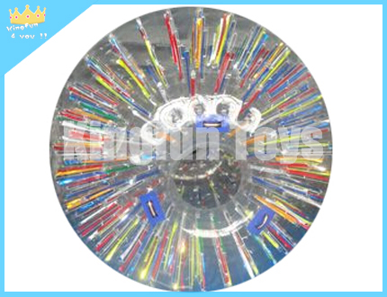 Multi color human hamster ball