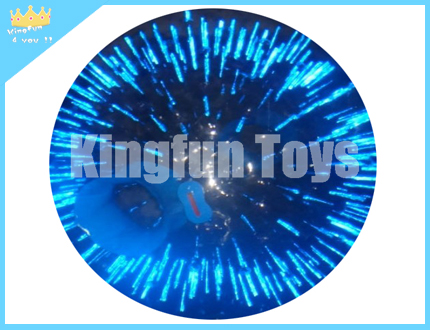 Shining zorb ball in Blue