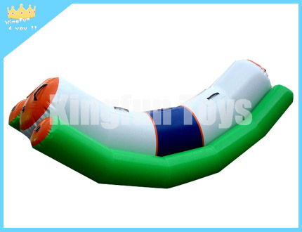 Single tube water seesaw