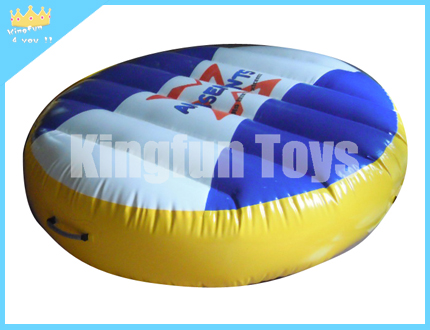 Small floating water mat