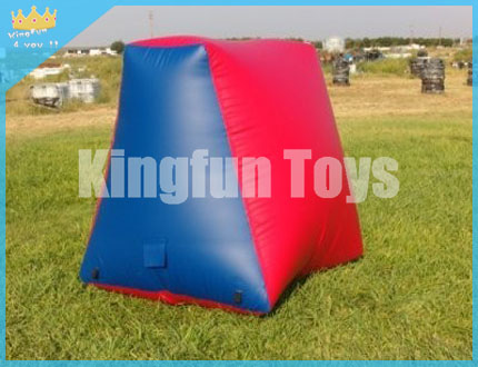 Wedge inflatable bunkers