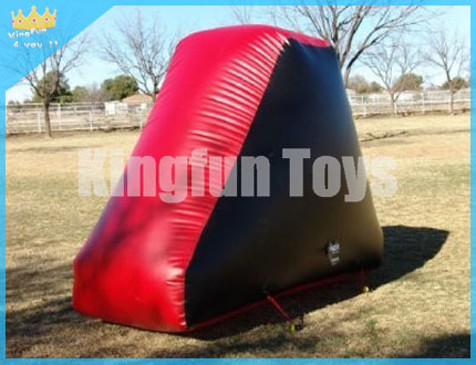 Plate inflatable bunkers