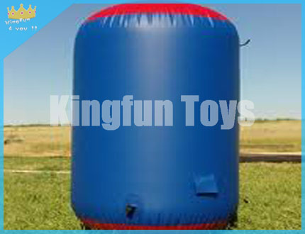 Cylinder inflatable bunkers