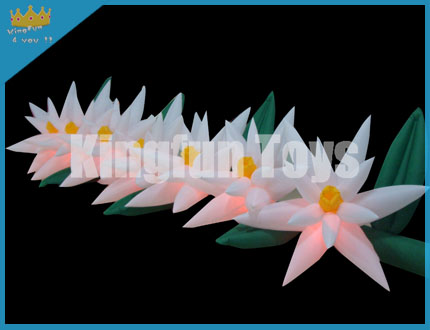 Led flower chain decorations