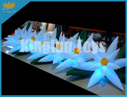 Event decorative flower chain