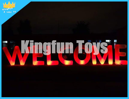 LED WELCOME Decortion