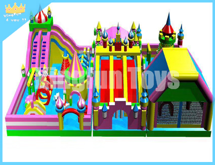 Kids inflatable funcity games