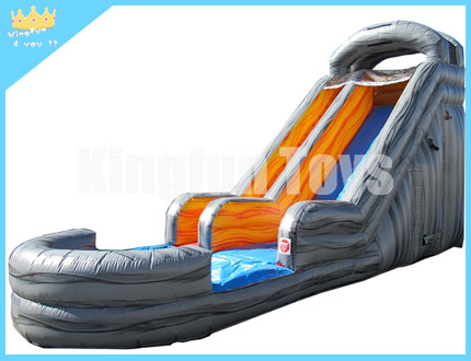 Stone color water slide