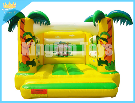 Jungle inflatable bouncer