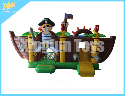 Pirate inflatable jumping bounce