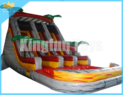 New tropical water slide