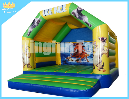 ICE Age inflatable jumping bounce house