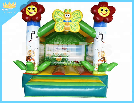 Flower inflatable jumping castle
