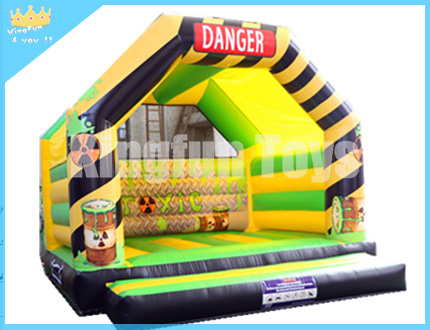Toxic inflatable bounce house