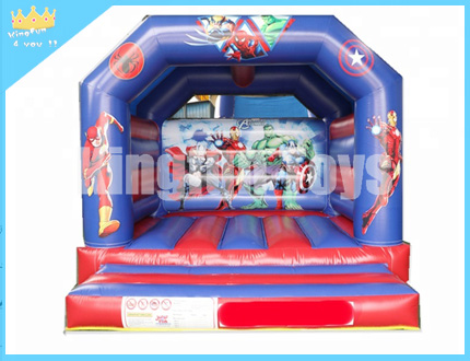 Open air inflatable jumper